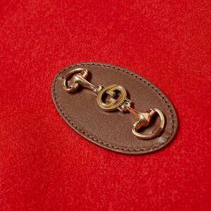 Gucci Horse Bit Varsity Jacket  Red