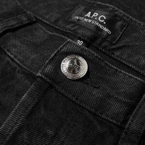 A.P.C. Petit New Standard Jean  Washed Black