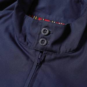 Fred Perry Reissues Made In England Harrington Jacket  Navy