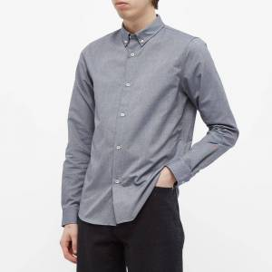 A.P.C. Button Down Oxford Shirt  Dark Navy