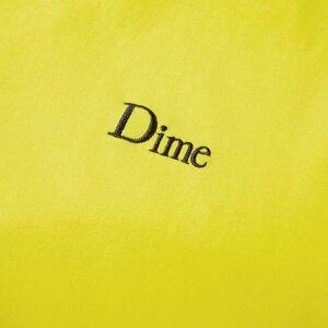 Dime Classic Small Logo Tee  Yellow
