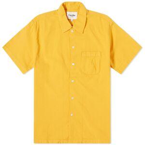 Corridor Short Sleeve Horseshoe Pocket Shirt  Yellow