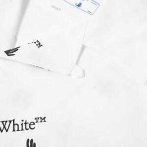 Off-White OW Allover Logo Vacation Shirt  White