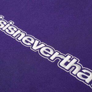 thisisneverthat Logo Crew Sweat  Purple