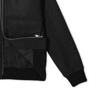 A.P.C. Ben Wool Jacket  Black