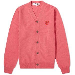 Comme des Garçons Play Comme des Garcons Play Double Heart Cardigan  Pink