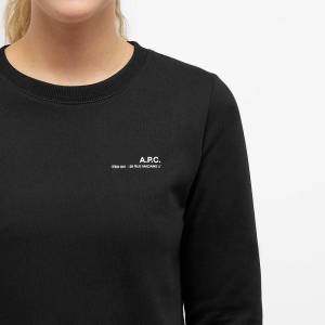 A.P.C Item Crew Sweat  Black