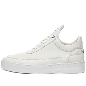 Filling Pieces Low Top Plain 683 Organic Sneaker  Organic White