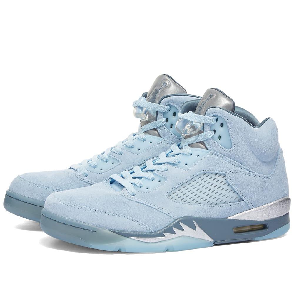 Nike Jordan Air Jordan 5 Retro W  Photo Blue, White & Silver