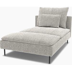 Bemz IKEA - Söderhamn Chaise Longue Cover, Driftwood, Wool-look - Bemz