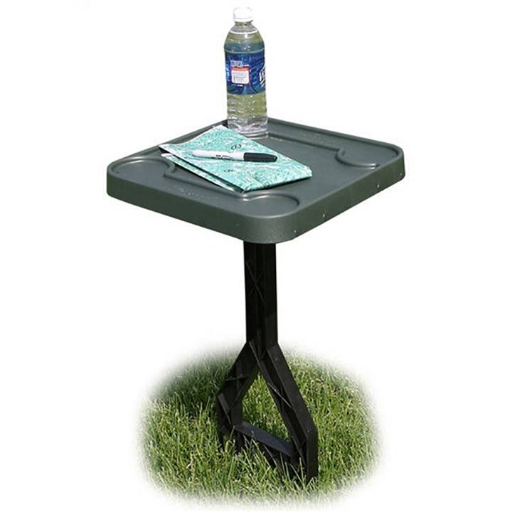 MTM JM111 Jammit Personal Outdoor Table for Cookouts Barbeques Sports Forest Green