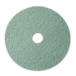 3M 08753 Burnish Floor Pad 3100, 20 INCH, Aqua, 5 Pads/Carton