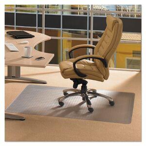 FLOORTEX PF1115225EV ClearTex Advantagemat Phthalate Free PVC Chair Mat for Low Pile Carpet, 48 x 60