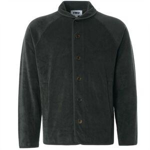 YMC Beach Cotton Towelling Jacket   Dark Olive   P7QAJ-30