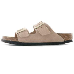 Birkenstock Arizona Soft Footbed Suede Leather   Nude   1021256-NUD