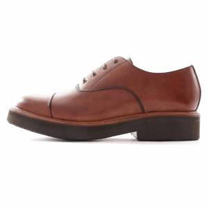Grenson Ben Oxford Shoe   Tan   113195-TAN