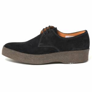 Sanders & Sanders Ltd. Sanders Lo Top Chukka Boot   Black   7995BSLT