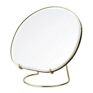 Ferm Living Pond table mirror, brass