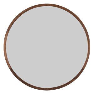 Fredericia Silhouette mirror, 100 cm, oiled walnut
