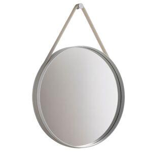 HAY Strap mirror large, grey