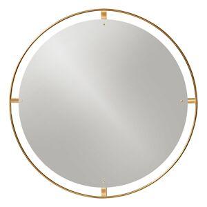 Menu Nimbus mirror 110 cm, polished brass