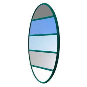 Magis Vitrail mirror, 50 x 50 cm, round, green