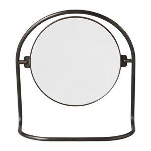 Menu Nimbus table mirror, bronzed brass