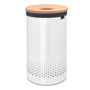 Brabantia Laundry bin 60L, white - cork lid