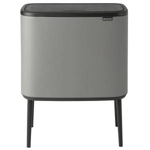 Brabantia Bo Touch Bin 11 + 23 L, Sense of Luxury, grey
