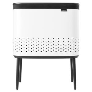 Brabantia Bo Laundry Bin, 60 L, white
