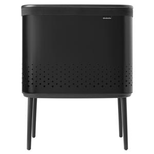 Brabantia Bo Laundry Bin, 60 L, matt black