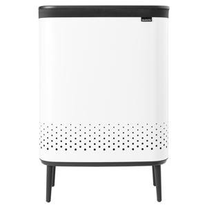 Brabantia Bo Laundry Bin Hi, 2 x 45 L, white