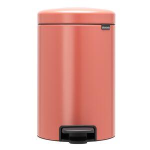 Brabantia newIcon pedal bin, terracotta pink