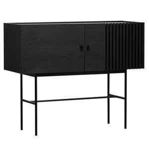 Woud Array sideboard 120 cm, black
