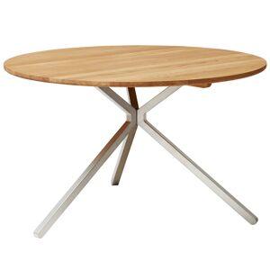Form & Refine Frisbee table, 120 cm, oak