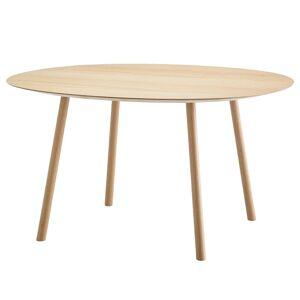 Viccarbe Maarten table, 120 cm, oval, matt oak
