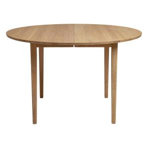 Sibast No 3 table, 120 cm, extendable, white oiled oak