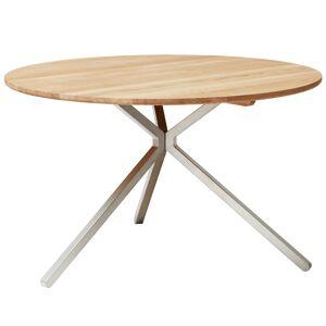Form & Refine Frisbee table, 120 cm, white oak