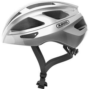 Abus Macator Road Helmet - Silver;