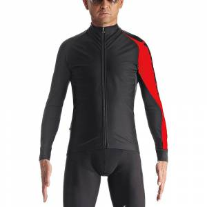 Assos mille Long Sleeve Jacket evo7  - National Red; Male
