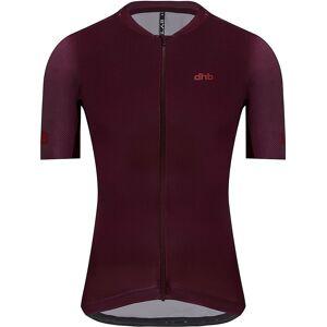 dhb Aeron Lab Short Sleeve Jersey SS21 - Burgundy; Male