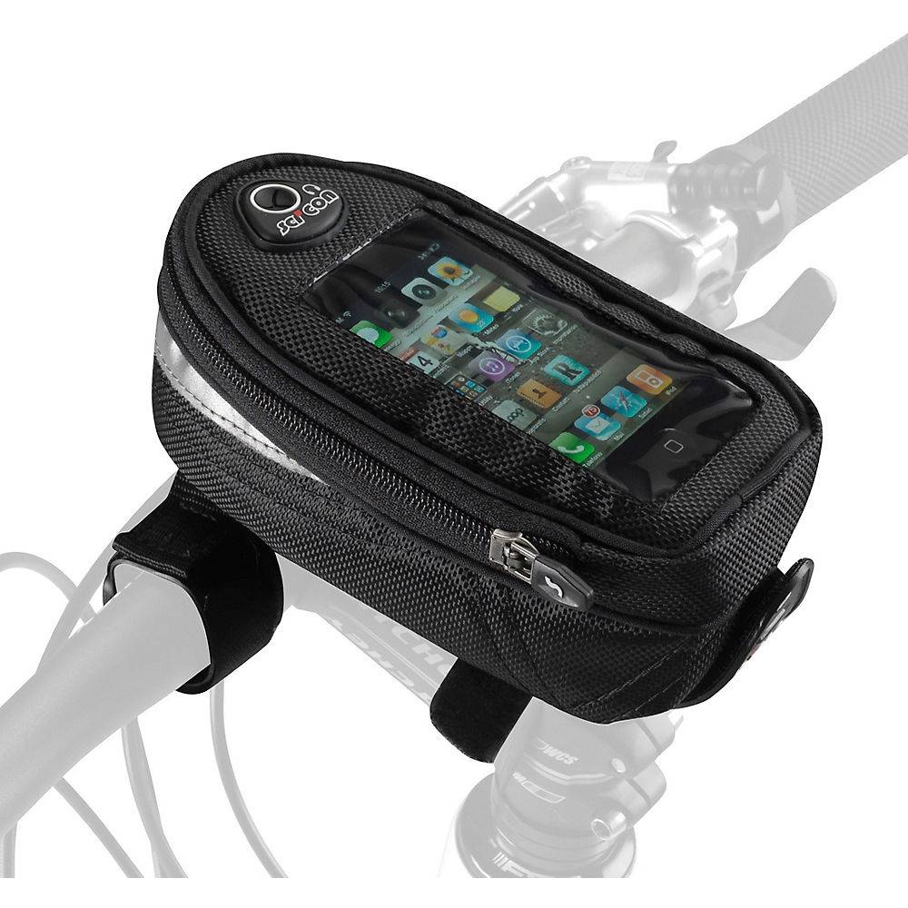 Scicon Phone Handlebar Bag - Black;