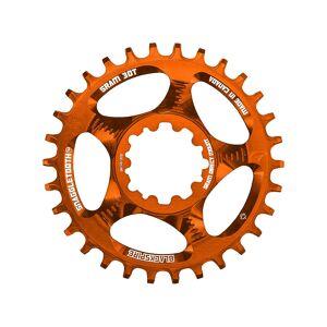 Blackspire Snaggletooth Narrow Wide SRAM Chainring - Direct Mount - Orange; Unisex