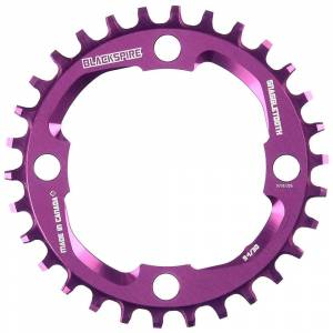 Blackspire Snaggletooth Narrow Wide Chainring X01 - 4-Bolt - Purple
