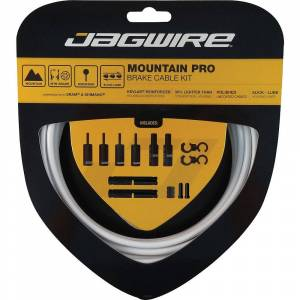 Jagwire Mountain Pro Brake Kit - White;