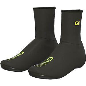 Alé Rain Shoecovers - XS - Black Fluo Yellow;