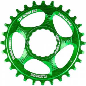 Blackspire Snaggletooth Cinch Shimano Chainring - Direct Mount - Lime Green