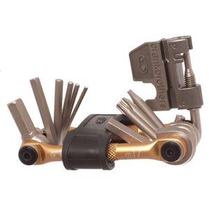crankbrothers Multi Mini Tool 17 - 17 Function - Gold; Unisex