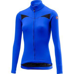 Castelli Women's Sinergia Long Sleeve Jersey  - XL - Rescue Blue