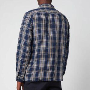 A.P.C. Men's Vincent Shirt - Dark Navy - XL